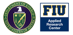 Logos: DOE, FIU-ARC, Applied Research Center