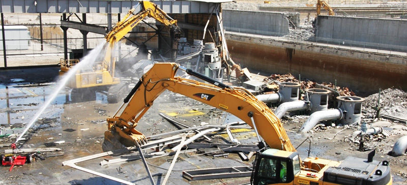 CH2MHill 100K D&D Demolition at the Hanford Site