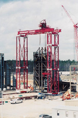 Modular Lift Tower_Travelling gantry Arrangement
