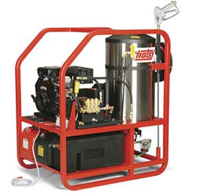 Hotsy Gas Powered Hot Water Pressure Washers