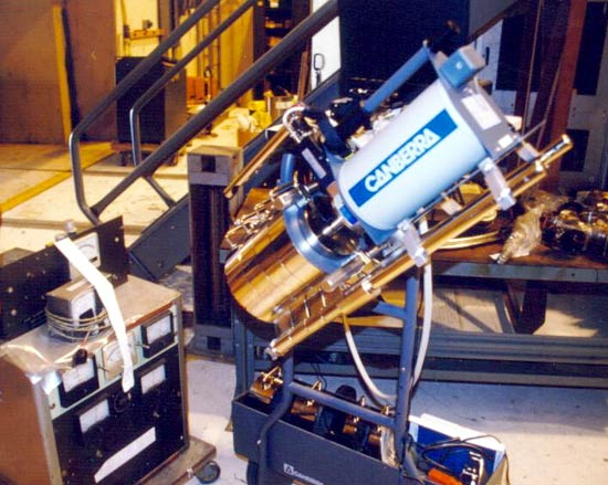 Close up view of the ISOCS Germanium detector