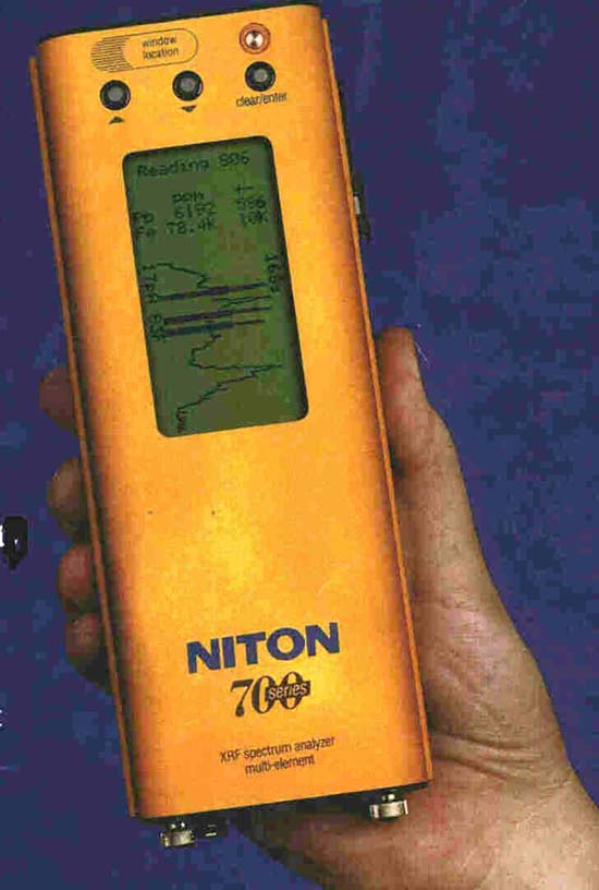 Niton 700 Series Multi-element Analyzer.