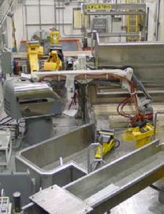 Box Opening Gantry Robot