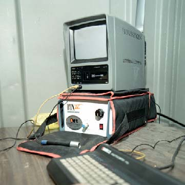 The video monitor and recording unit