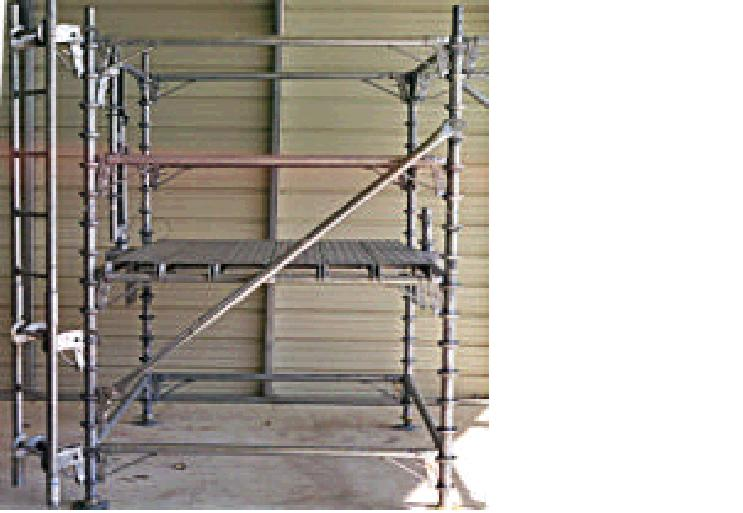 Excel Automatic Locking Scaffold