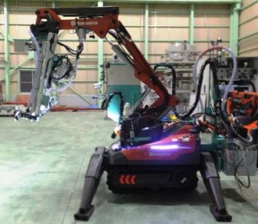 Husqvarna DXR-series demolition robots image