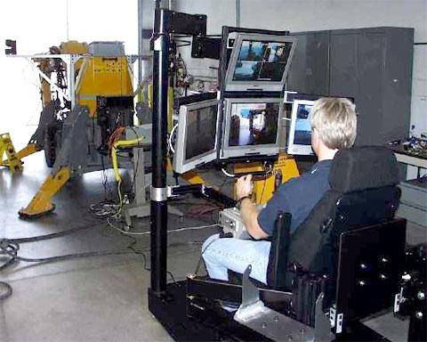 Compact Remote Operator Console