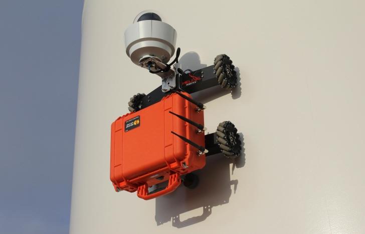 HR-MP20 Wall climbing robot