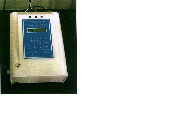 Lumi-Scint portable liquid scintillation counter.