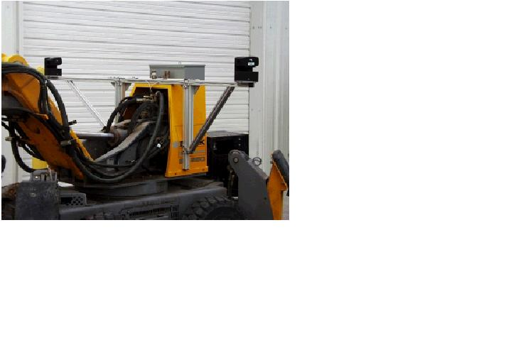 The Brokk 250 with cameras and actuated arms deployed.