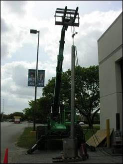 ITSM Testing at FIU using forklift