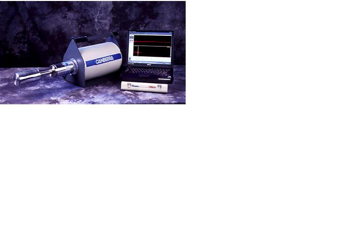The ISOCS including germanium detector. The detector is placed inside