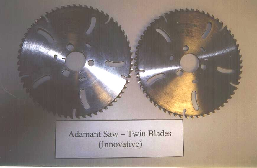 ADAMANT used twin blades (1set)