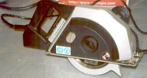 Evolution 180 portable metal cutting circular saw