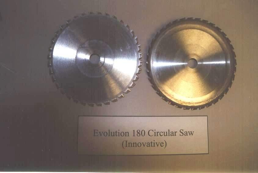 Used Evolution 180 blades.