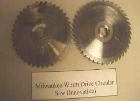 MILWAUKEE circular saw used blades.