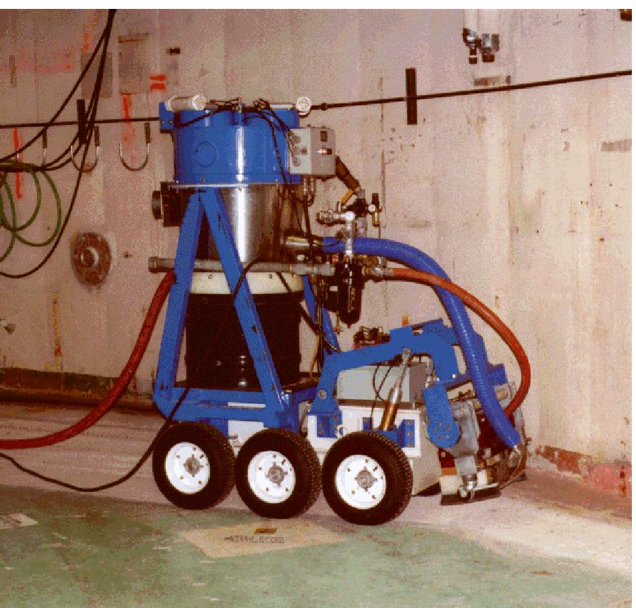 Remotely Operated Scabbling