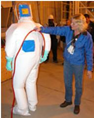 Anti-Contamination Encapsulating Suit 1