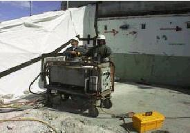Electric/hydraulic power unit.