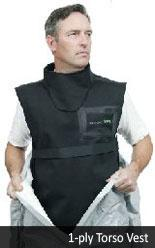 Demron One/Two Ply Radiation Torso Vest