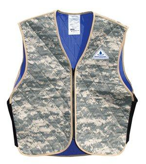 Cooling vests and hydration pack systems