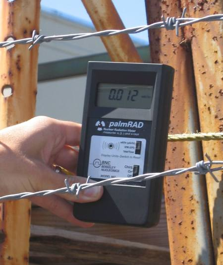 Model 907 palmRAD Nuclear Radiation Meter